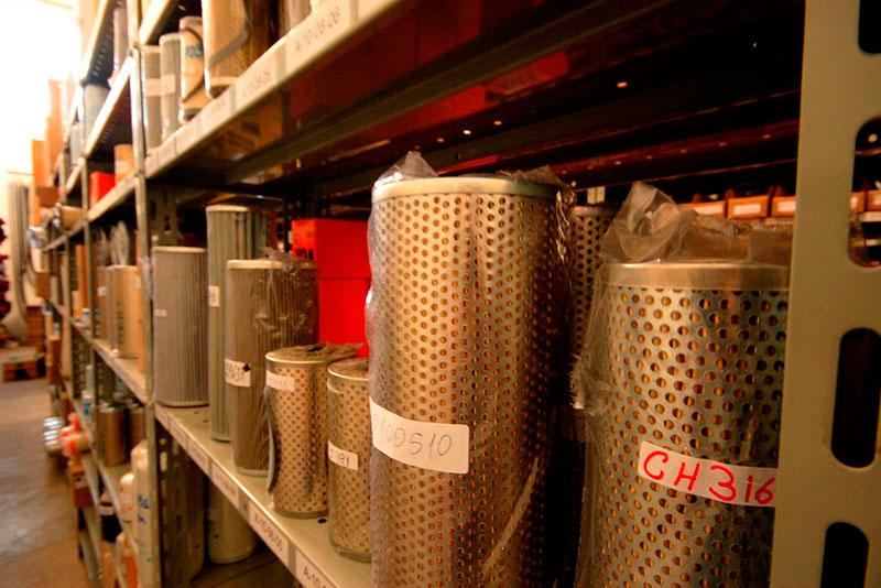 Fábrica de peças para máquinas pesadas