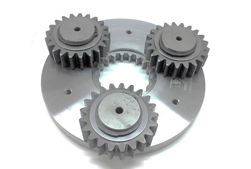 Indústria de peças para máquinas pesadas