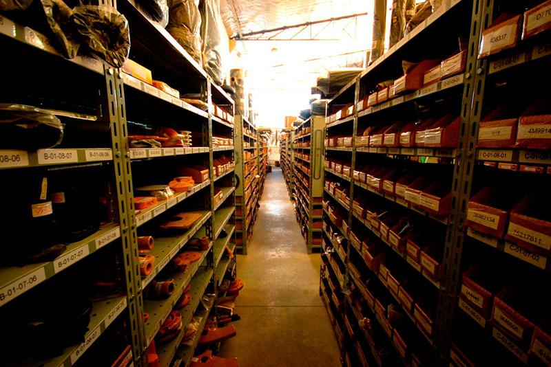Loja de peças para máquinas pesadas