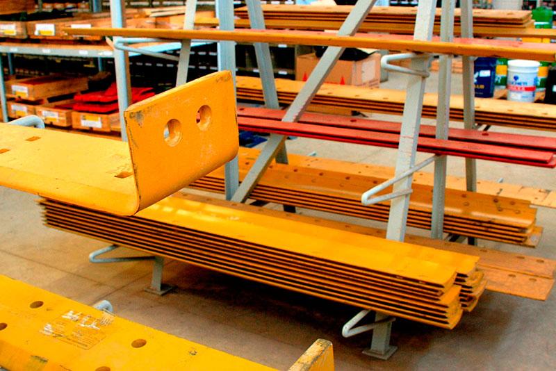 Peças e serviços para máquinas pesadas