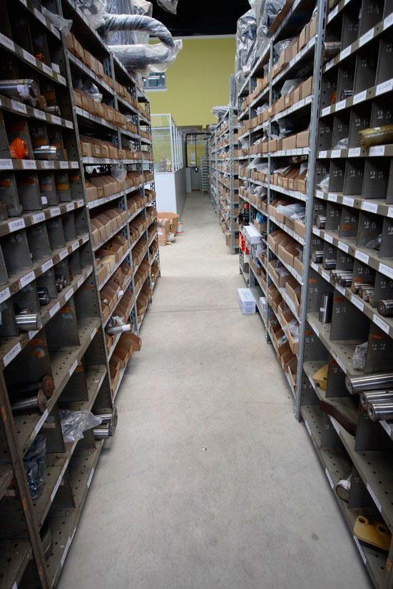 Vendas de peças para máquinas pesadas